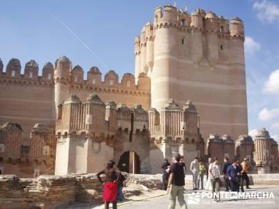 Coca - Ruta de castillos - Castillos Valladolid - Castillos Segovia - Castillo Coca; amistades; pueb